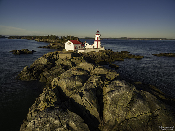 Head Harbour Light / East Quoddy Lighthouse - New Brunswick, Canada