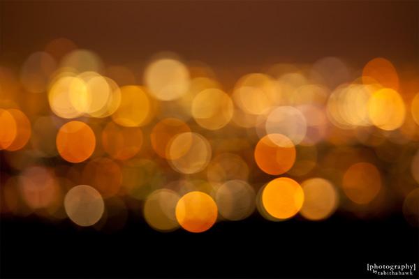 Downtown LA Bokeh Lights