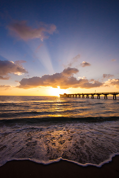 Pompano Beach, Florida sunrise