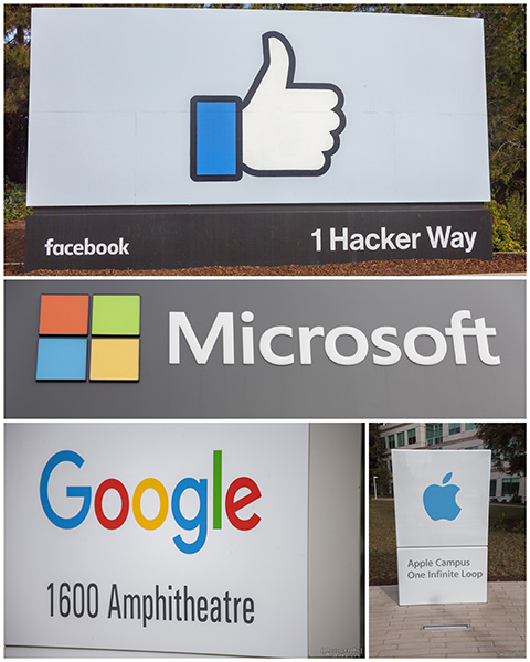 Some Big Names in Silicon Valley